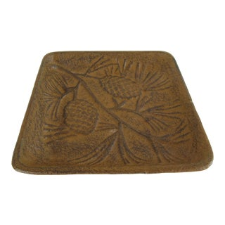 Iron Pine Cone Catchall For Sale