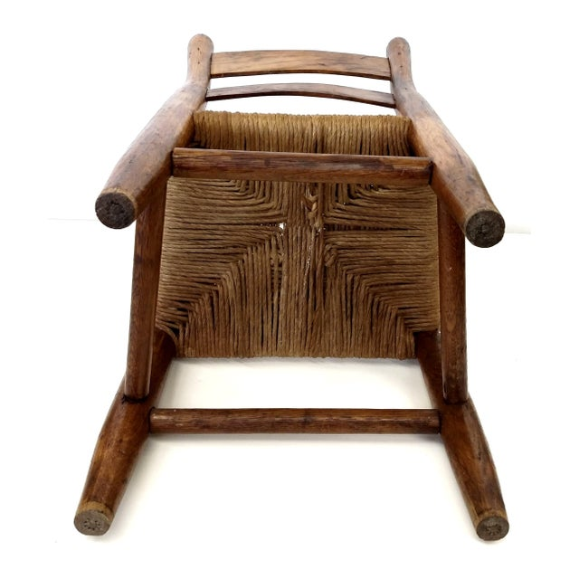 Antique French Farm Child's Chair - Image 6 of 10