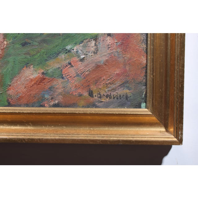 Impressionism Lakeside Painting For Sale - Image 3 of 4