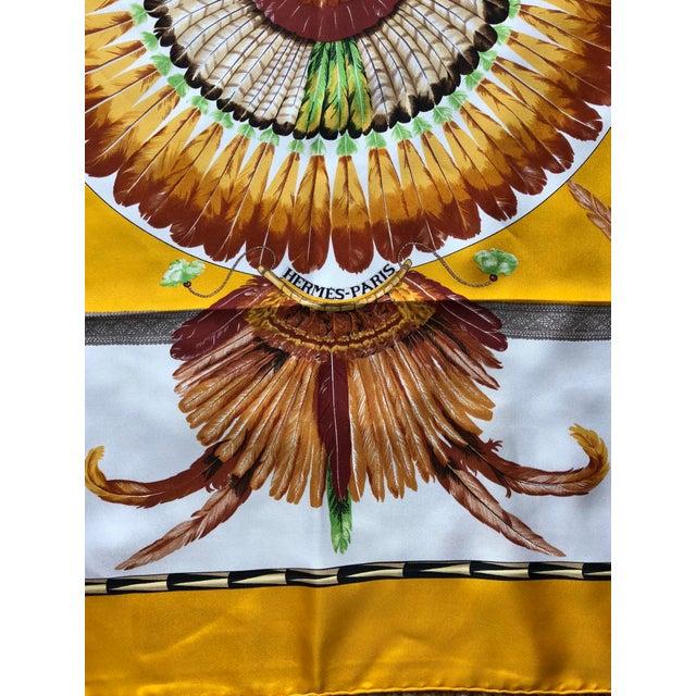 Vintage Hermes Brazil Scarf For Sale - Image 9 of 10