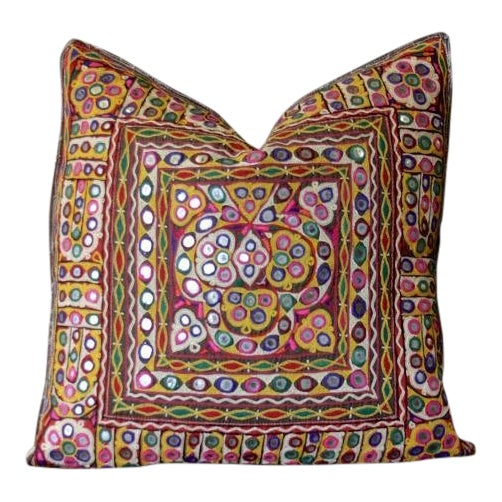 Aasthika Reshmi Sutra Pillow For Sale
