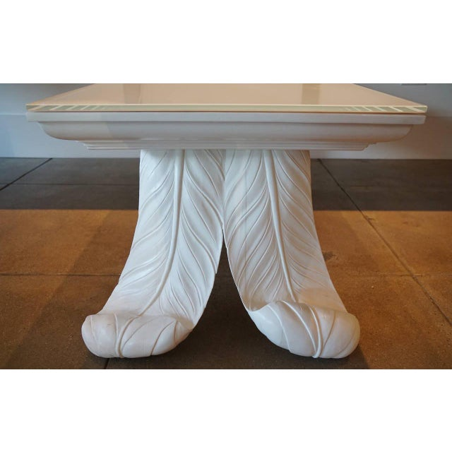 Grosfeld House Scroll Leg Coffee Table - Image 5 of 5