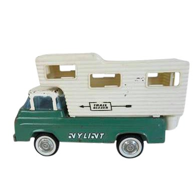 Vintage Nylint Trail Blazer Camper Truck Toy For Sale