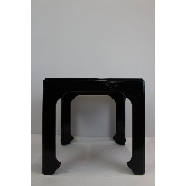 Premiered in the Far East Collection, this table works well in any room as an accent piece, end table or nightstand. High-...