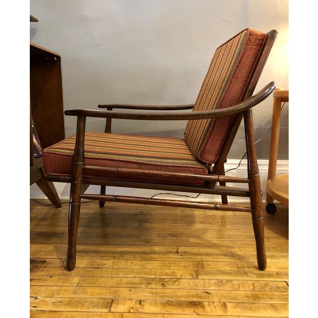 Mid-Century Modern Mid Century Italian Lounge Chair 1960's For Sale - Image 3 of 9