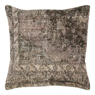 "Nalbandian - Overdyed Turkish Oushak Pillow - 24"" X 24"" For Sale"