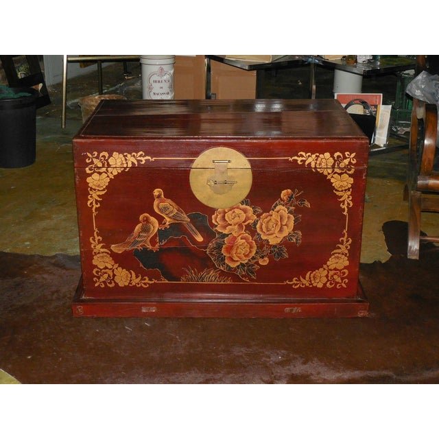 Painted and Gilt Chinese Trunk C.1925 - Image 2 of 8