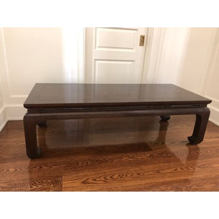 Asian Custom Walnut Coffee Table Preview