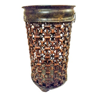Chain Link Metal Large Umbrella Stand Holder For Sale