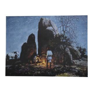 Duane Bryers, Apache Fire Light, Lithograph For Sale
