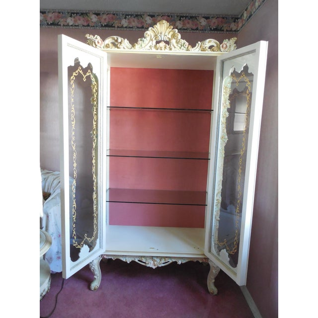 Italian Style Display Cabinet - Image 9 of 11
