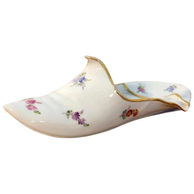 19th Century Meissen Model of a Slipper For Sale