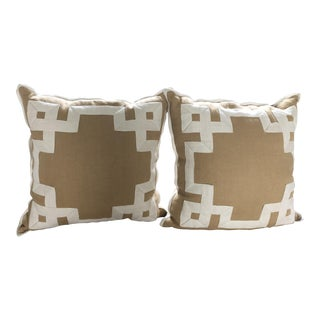 Ryan Studio Greek Key Pillows - a Pair