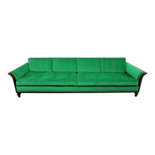 Tomlinson Walnut Sofa by Erwin Lambeth For Sale