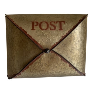 Rustic Urban Metal Post Box, Mailbox For Sale