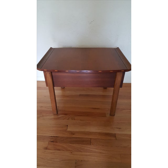 Lane Furniture Asian-Style Side Table - Image 3 of 5
