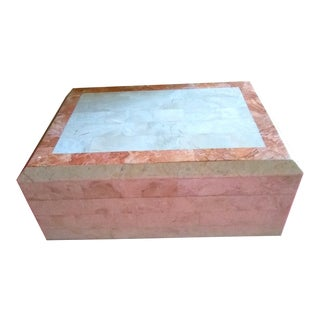 Late 20th Century Maitland - Smith Tessellated Marble Box For Sale