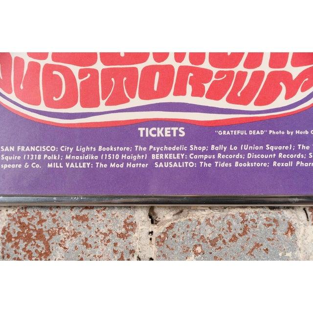 Vintage Grateful Dead in San Francisco Concert Poster - Image 4 of 7