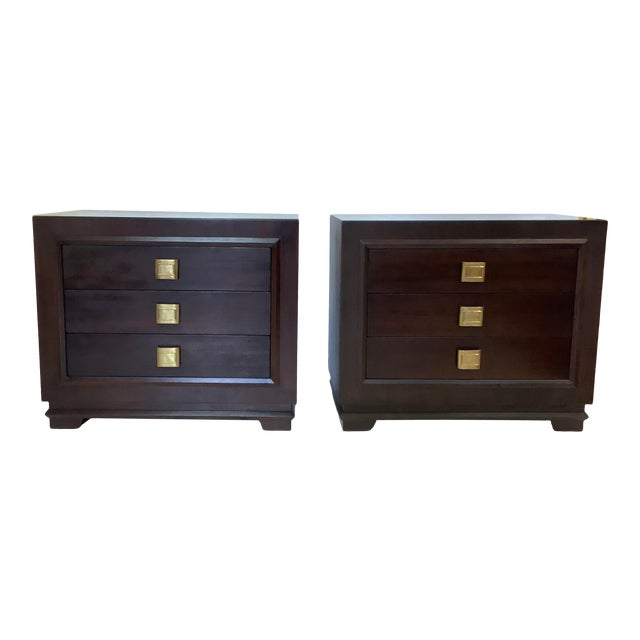 Art Deco Chests, a Pair, Futurama For Sale