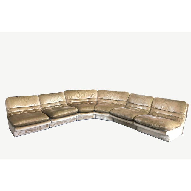 Textile Vladimir Kagan Modular Sofa For Sale - Image 7 of 7