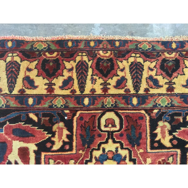 Vintage Turkaman Turkish Rug - 5′ × 8′2″ - Image 9 of 11