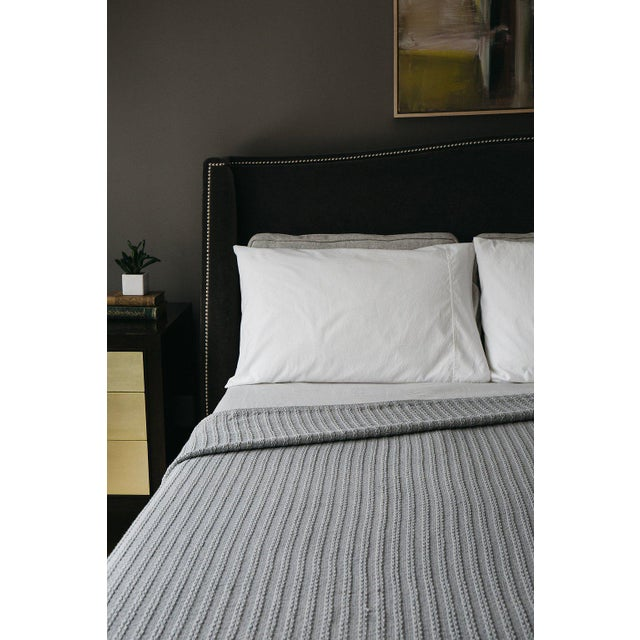 """100% Cotton Full/Queen: 90""""x96"""" Soft yet rugged. The perfect weight for any climate. A good reason to stay in bed a bit..."""