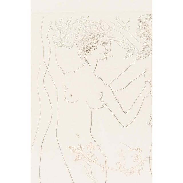 """Salvador Dali """"Adam & Eve"""" Signed Lithograph - Image 3 of 10"""