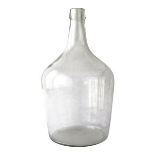 20th Century French Country Demijohn Bottle For Sale