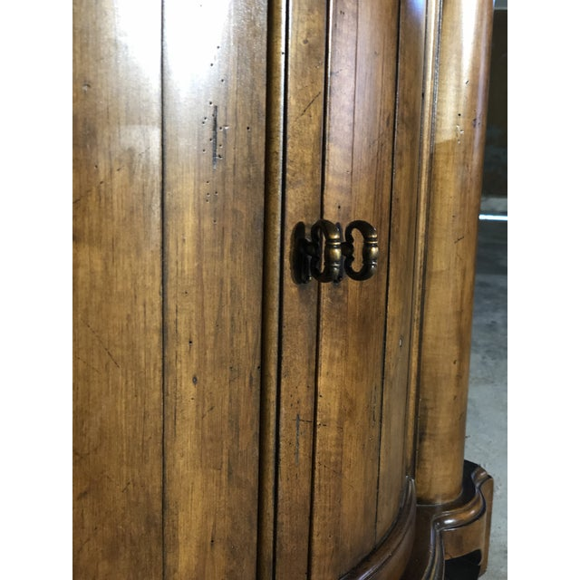 French Country French Country Century Furniture Somerset Commode Cabinet For Sale - Image 3 of 4