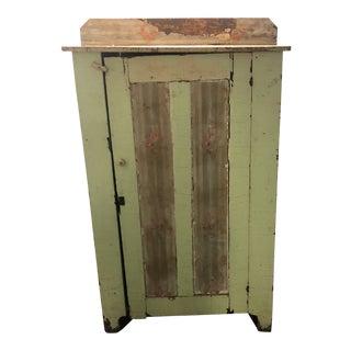 Vintage Distressed Reclaimed Wood Wardrobe