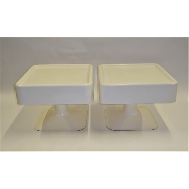 1960s Yrjo Kukkapuro 1960s Coffee Side Tables for Haimi of Finland - a Pair For Sale - Image 5 of 11