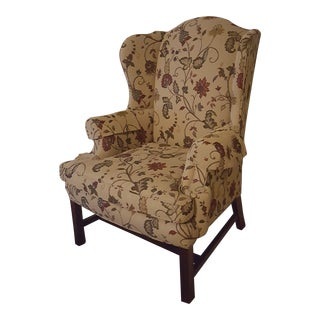 Sherrill Living Room Wing Chair For Sale