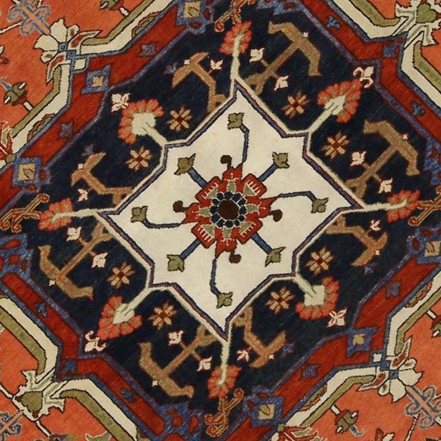 "Contemporary Persian Heriz Rug - 15' x 18'10"" - Image 4 of 9"