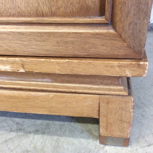 1960s American of Martinsville Solid Wood Buffet Side Board Credenza For Sale - Image 5 of 11