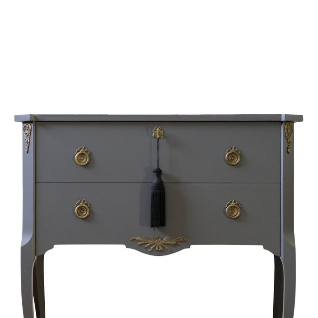 Metal Gustavian Louis XV Style Chests - a Pair For Sale - Image 7 of 9