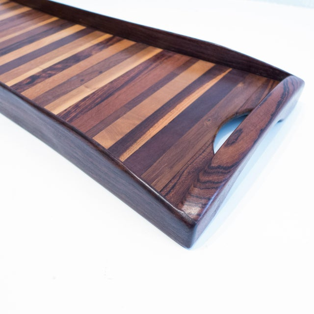 Don Shoemaker Exotic Woods Tray For Sale In New York - Image 6 of 10
