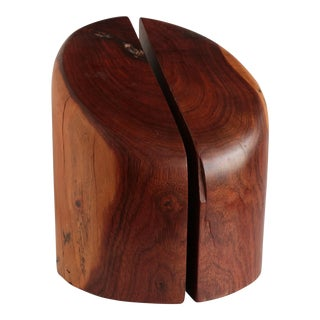 Cocobolo Wood Bookends From Don Shoemaker For Sale