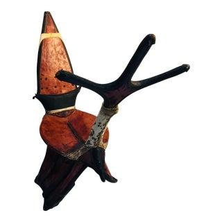 Tuareg Leather Camel Saddle For Sale