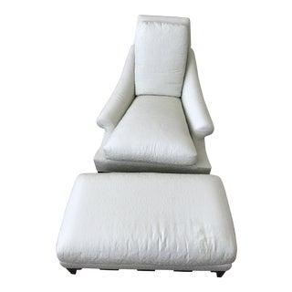 Baker Furniture Villa Club Chair & Ottoman