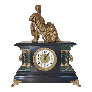 Early 20th Century Ingraham Mantel Clock For Sale