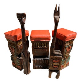 Image of Tiki Bar Stools