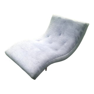 1960s Vintage Adrian Pearsall Wave Lounge Chair For Sale