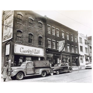 Original C. Harris Vintage Storefronts Photograph For Sale
