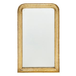 Gold Leafed Louis Philippe Period Mirror For Sale