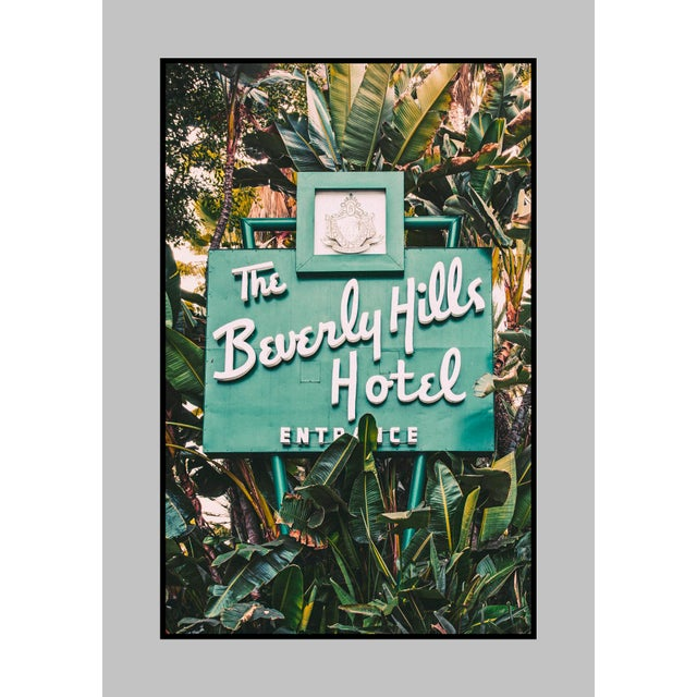 The iconic entrance sign at the famed Beverly Hills Hotel. Lightjet Type C Print 24X36 (other sizes available on upon...