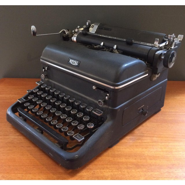 1930s Royal Typewriter For Sale - Image 4 of 8