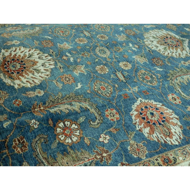 "Hand-Knotted Indo-Persian Rug- 8'1""x 9'5"" - Image 9 of 10"