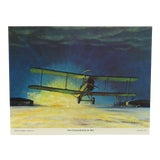 "Image of Original Best of Hubbell Aircraft Print ""First Transcontinental Air Mail"" by Charles H. Hubbell, 1970 For Sale"