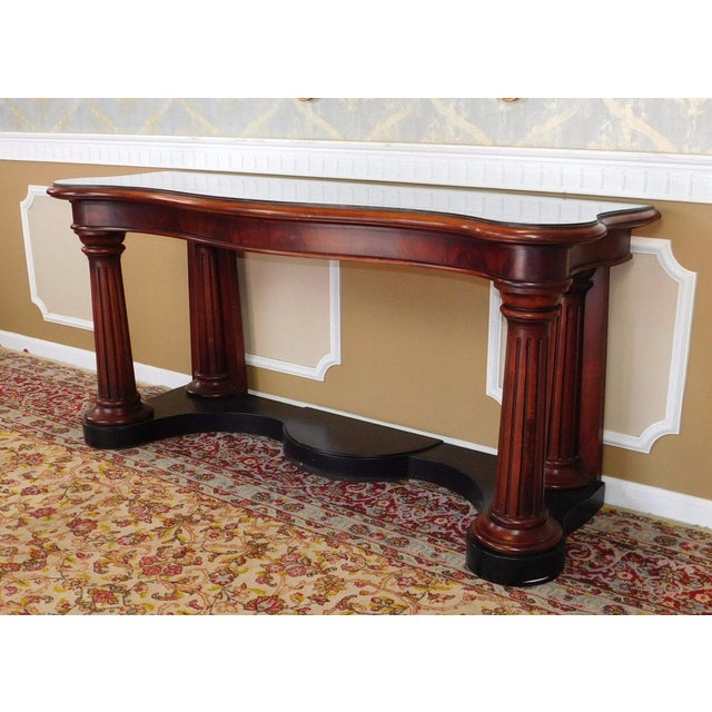 Ralph Lauren Home Collection Mahogany Console - Image 3 of 6