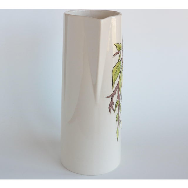 White Lemon Branch Pitcher and Tumblers - Set of 6 For Sale - Image 8 of 11